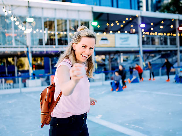 An outdoor summer ice rink is coming to Queen Vic Market