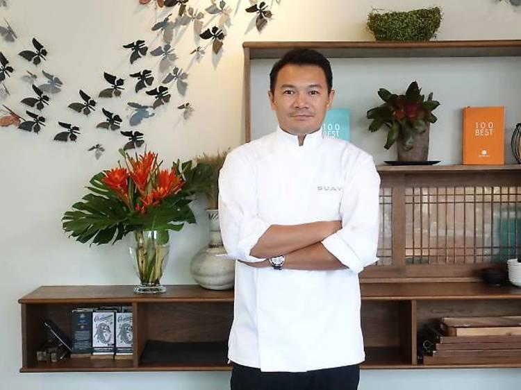 Tammasak Chootong, chef and owner of Suay