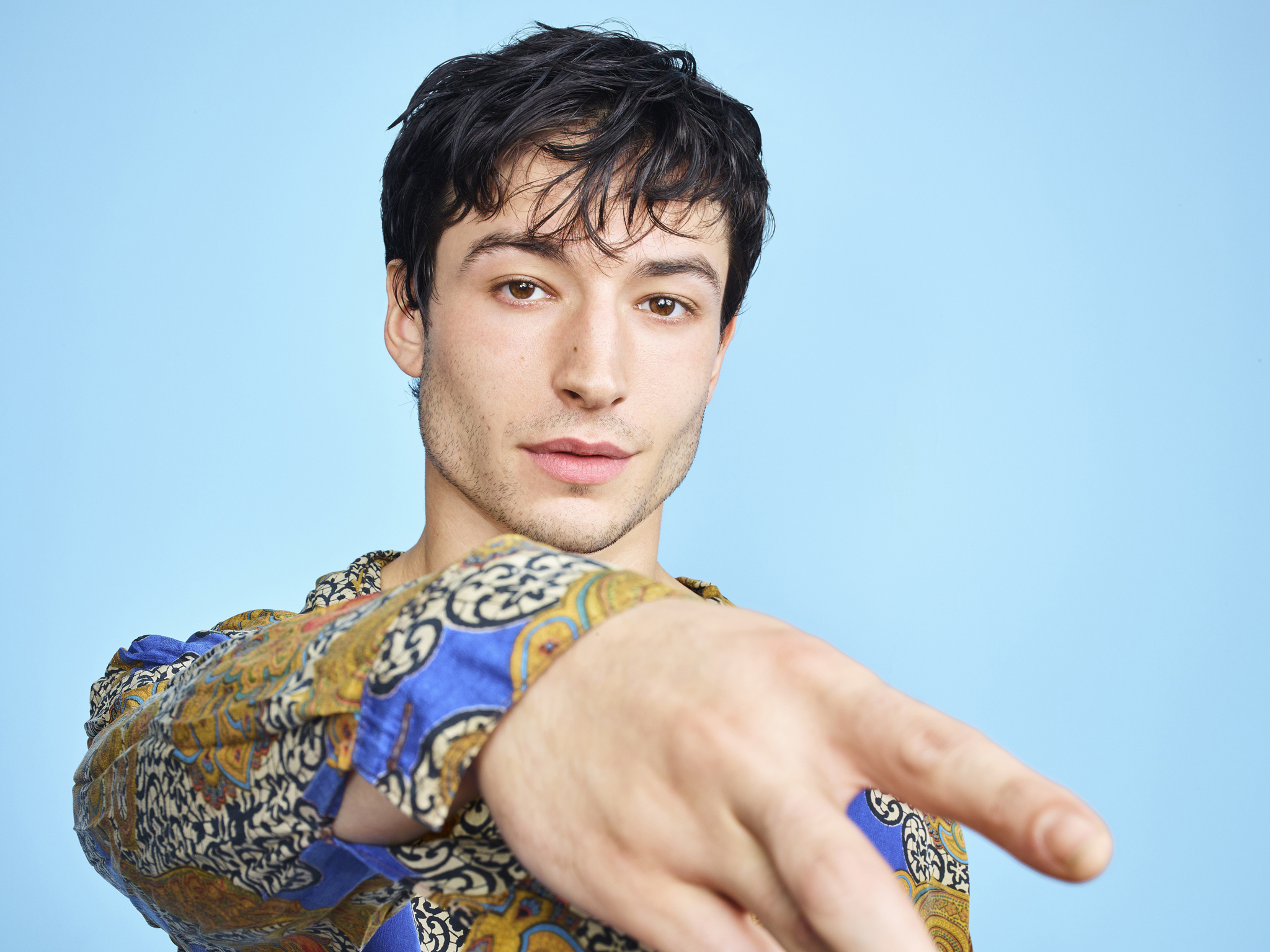 Ezra Miller: 'I'm a silly being, so I don't feel like any of this stuff is  silly'