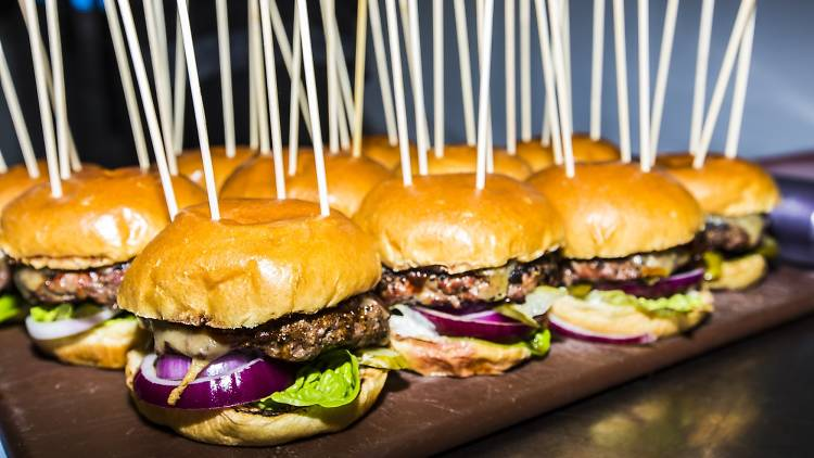 Deliveroo Battle of the Burger event