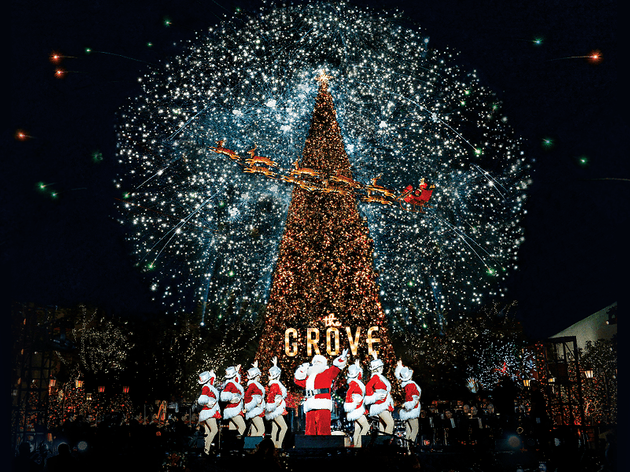 California Christmas.A California Christmas At The Grove Things To Do In Los
