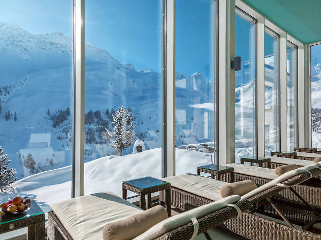 Arosa Kulm Hotel, for Swiss Tourism advertorial