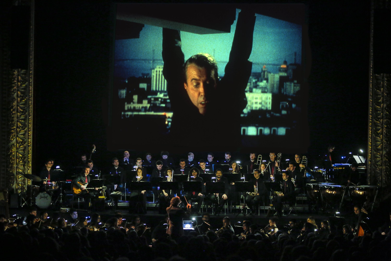 'Vértigo' de Hitchcock en concert!