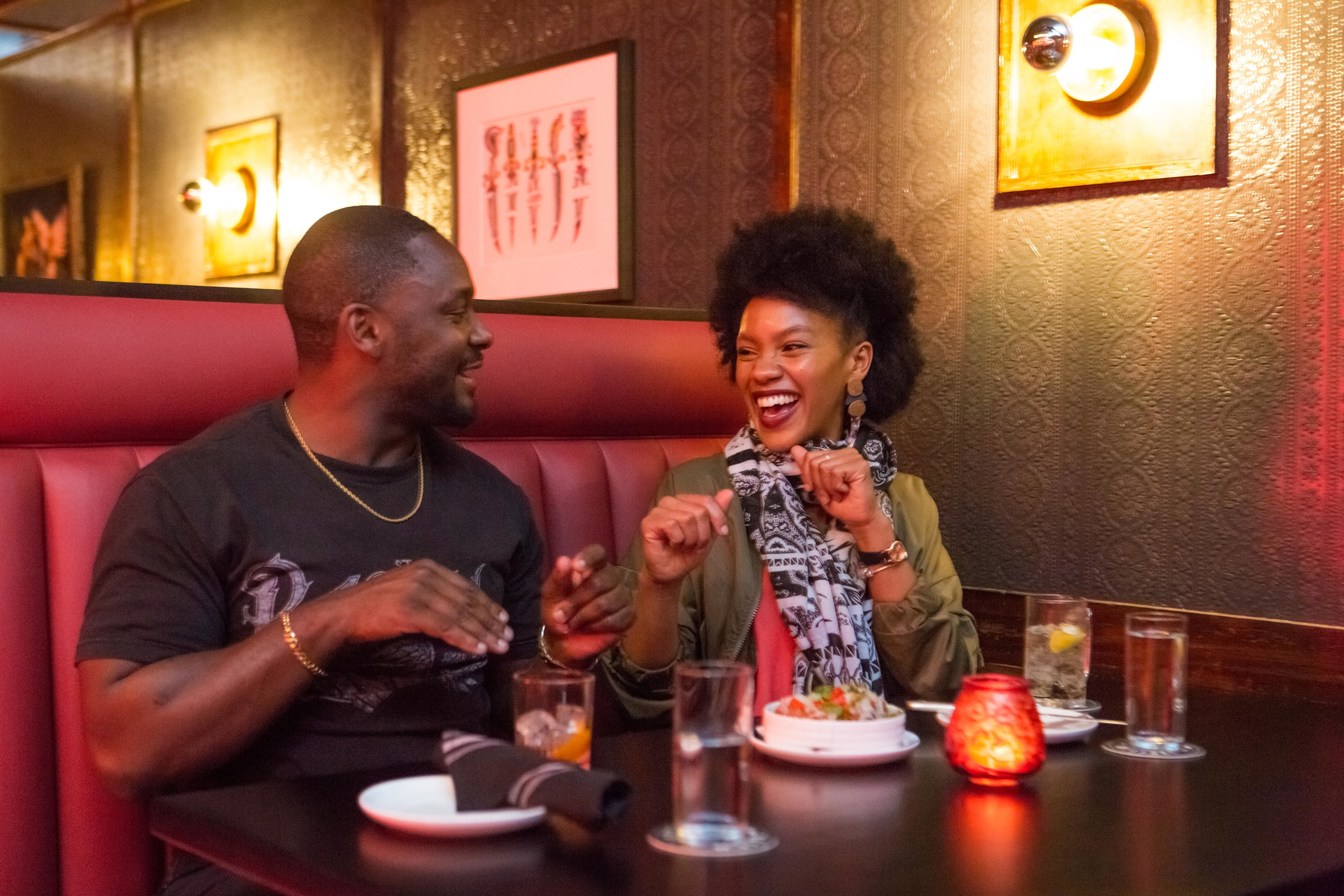 We set up two Chicagoans on a blind date in River North—here's what happened