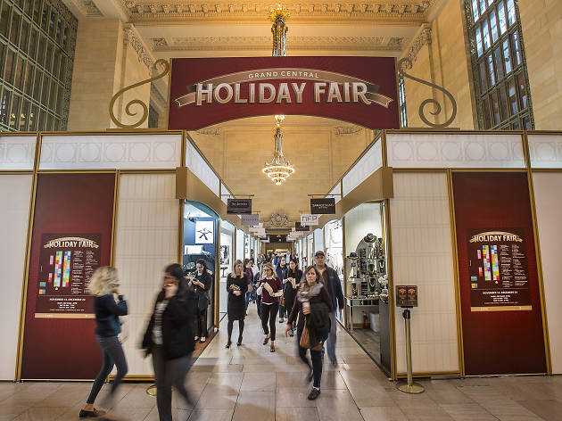 The Grand Central Holiday Fair has officially reopened in the terminal