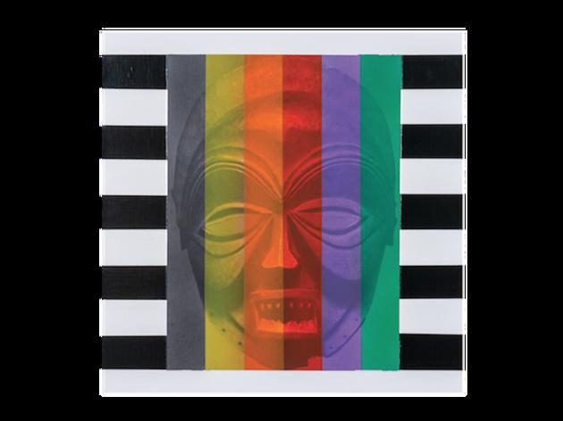 Rico Gatson, Mask Painting #3, 2018