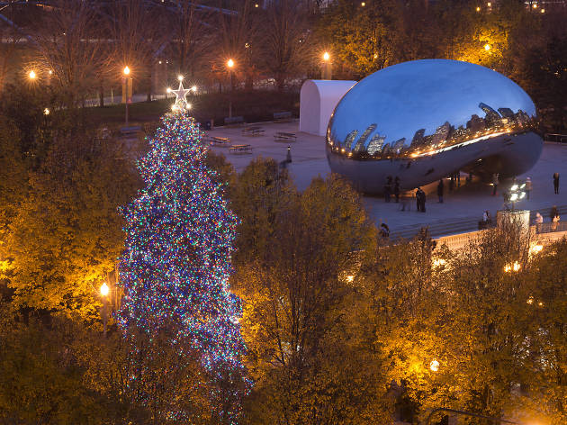 Here's every single Millennium Park holiday event that you can look forward to this winter