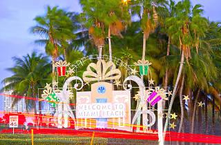 Miami Beach Christmas 2018