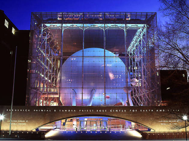 Rose Center for Earth and Space (at the American Museum of Natural History)