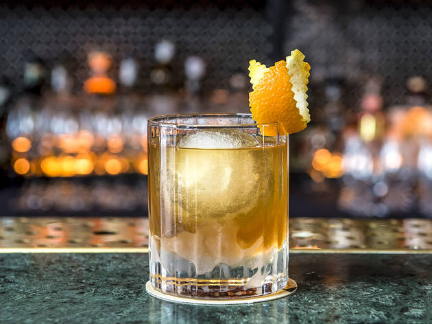 Burnt butter old fashioned at Nick and Nora's