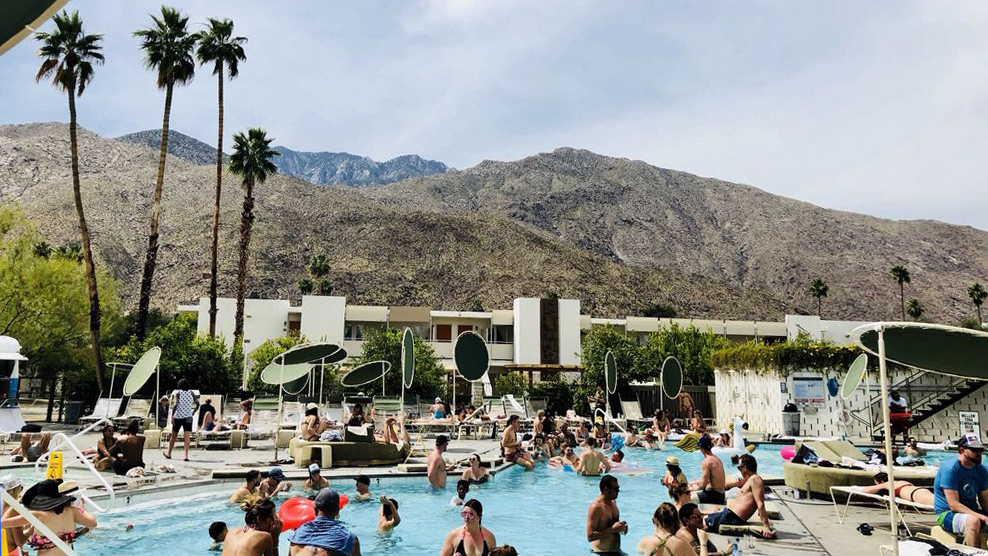 Ace Hotel Pool Party in Palm Springs