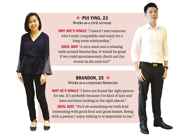 Find me a date: Pui Ying and Brandon