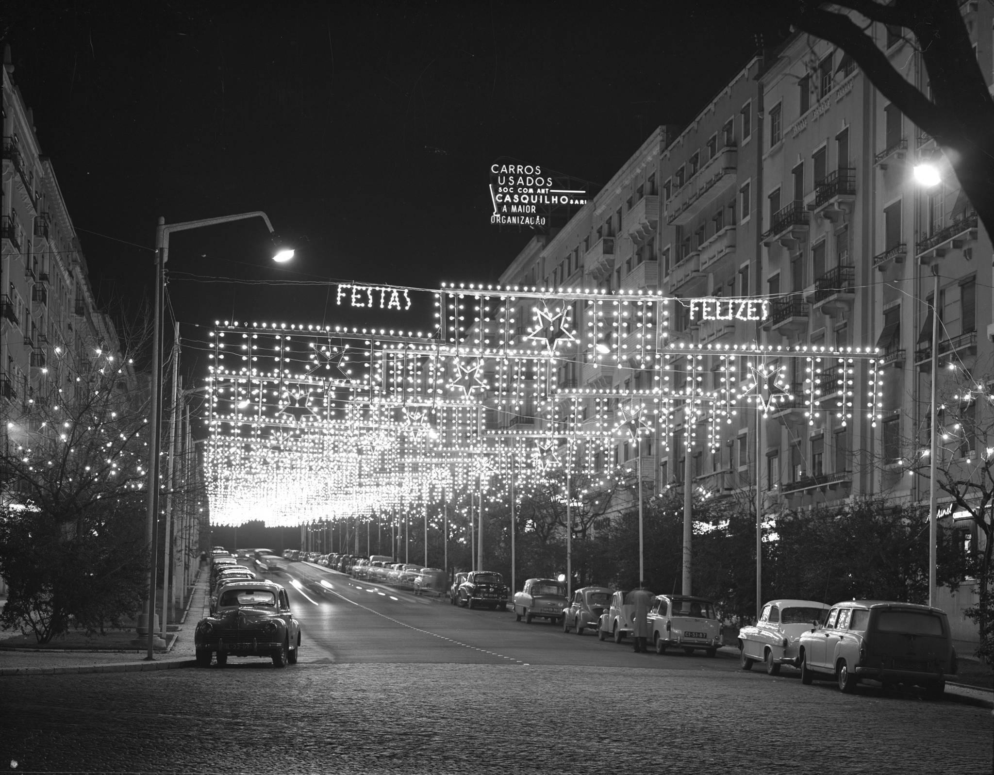 Natal a preto e branco: um arquivo da quadra em Lisboa