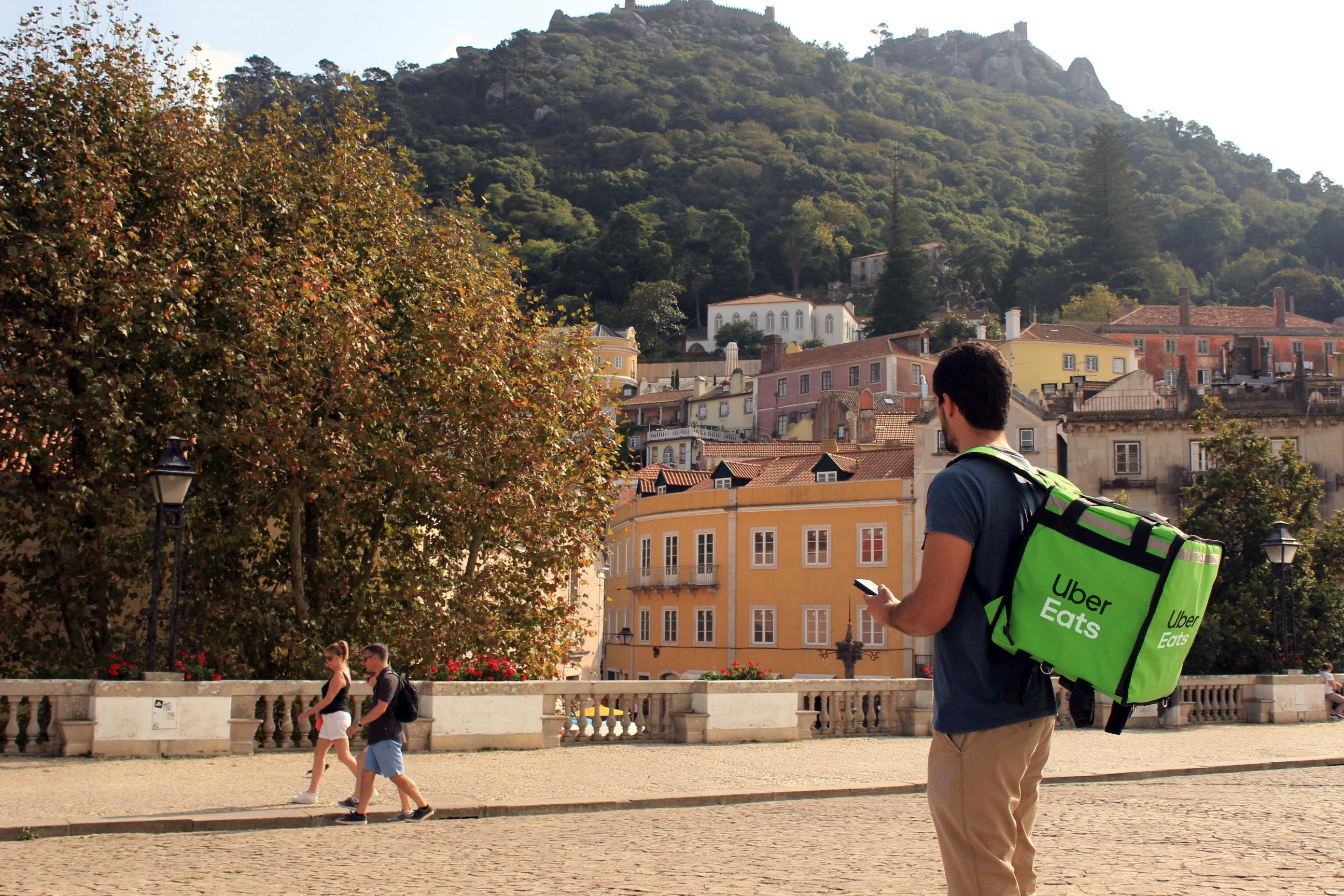 Uber Eats Sintra