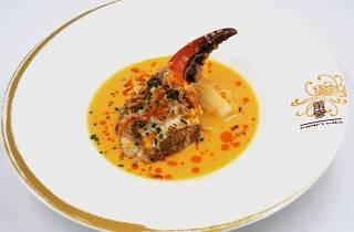 Man Ho_Sauteed Crab Claw with Egg Yolk Sauce.JPG