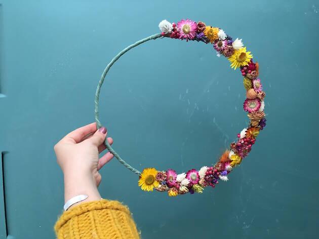 Coroa de flores da 2 for 1 Design