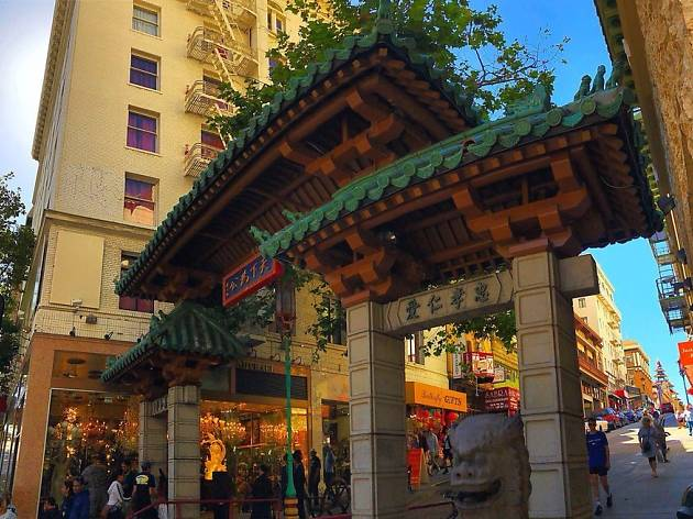Dragon's Gate Chinatown SF