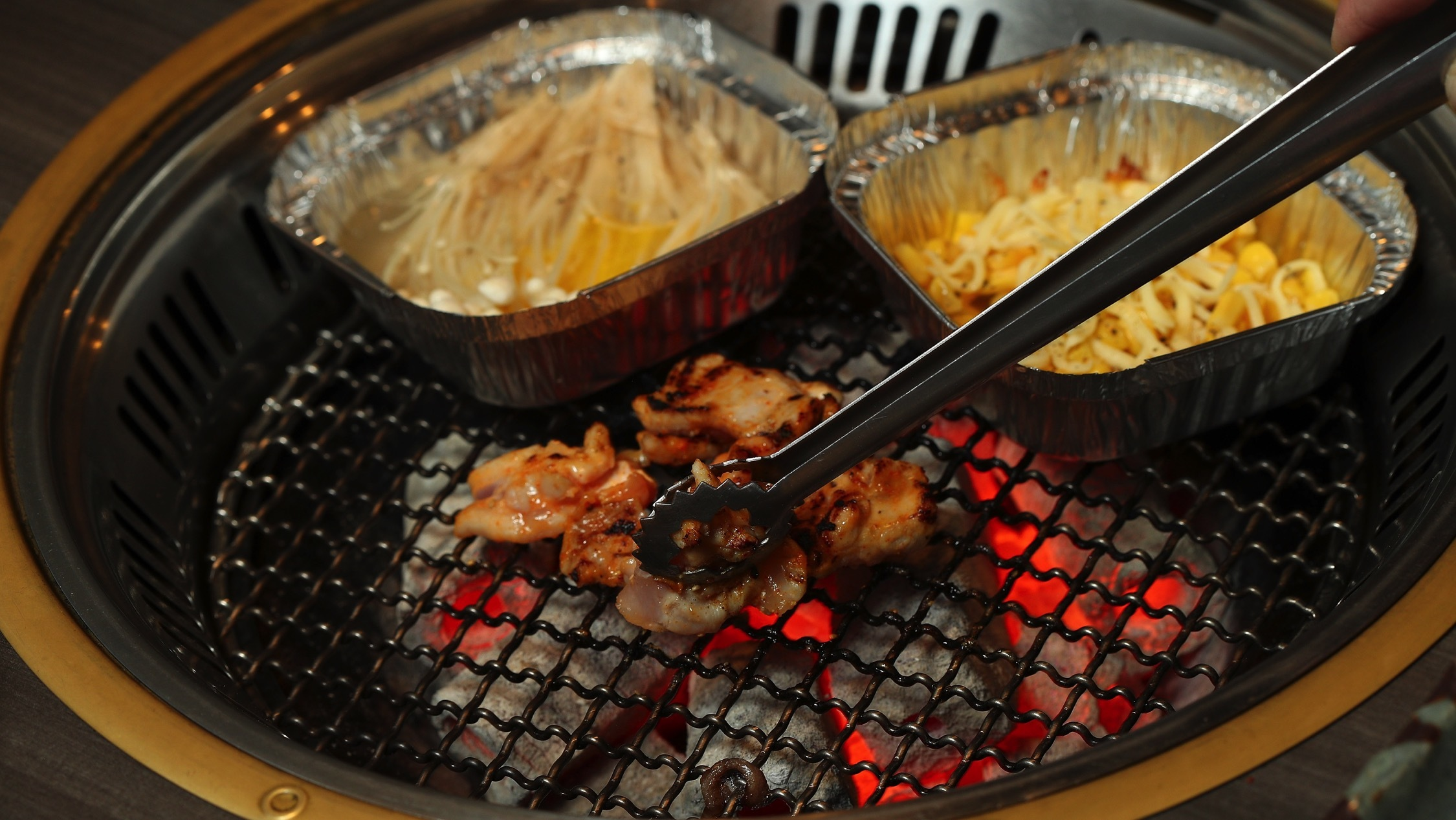Food at Shinbashi Yakiniku