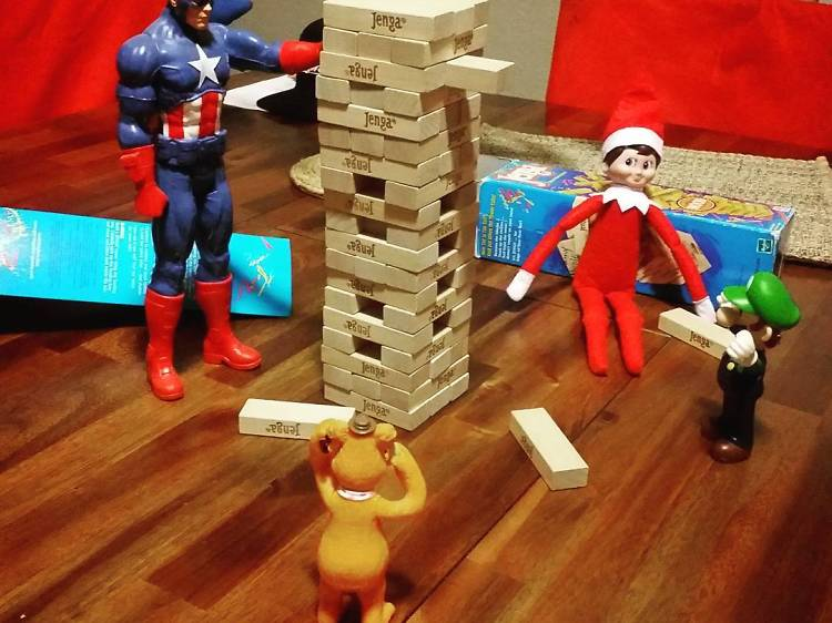 Attempting to emerge victorious in Jenga