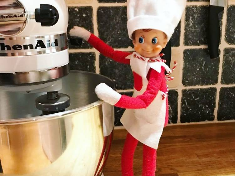 Making meals with the Kitchen Aid