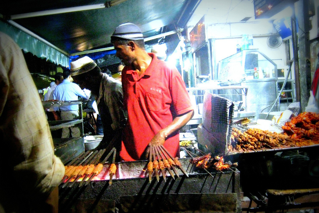 The best street food in Mumbai