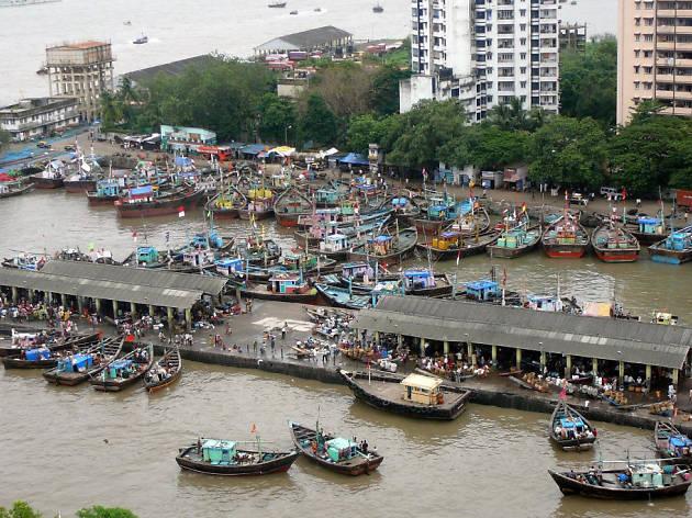 Sassoon Dock Local Fish Market