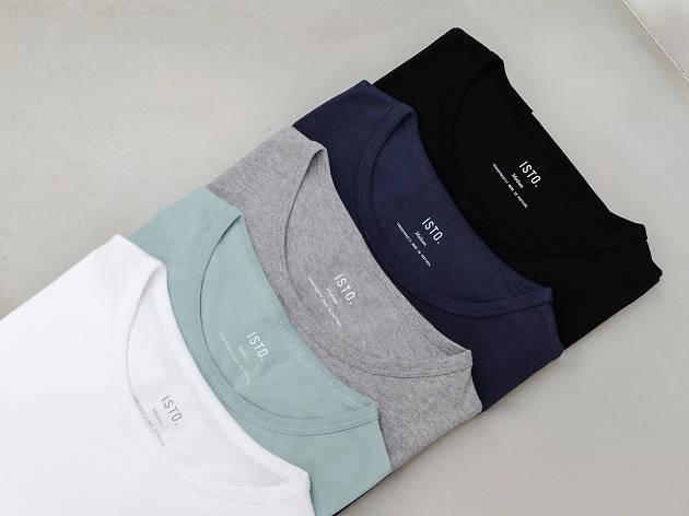 T-Shirt em Algodão Bio ISTO; 28€
