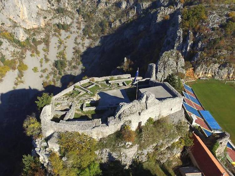 Explore the medieval fortress