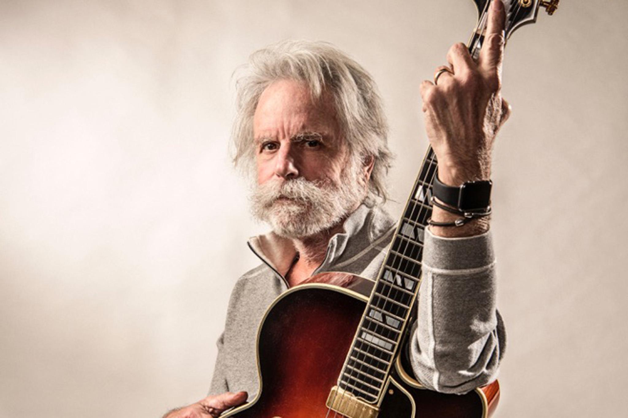 Bob Weir presenta lives de conciertos que ha tenido a lo largo de su trayectoria con su banda