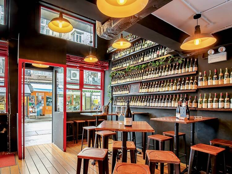 The best wine bars in Hong Kong