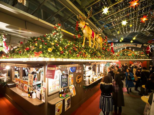 東京、クリスマスマーケット2018