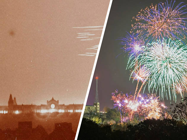 Then and Now: Alexandra Palace fireworks