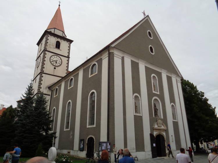 Visit Varaždin's oldest parish church