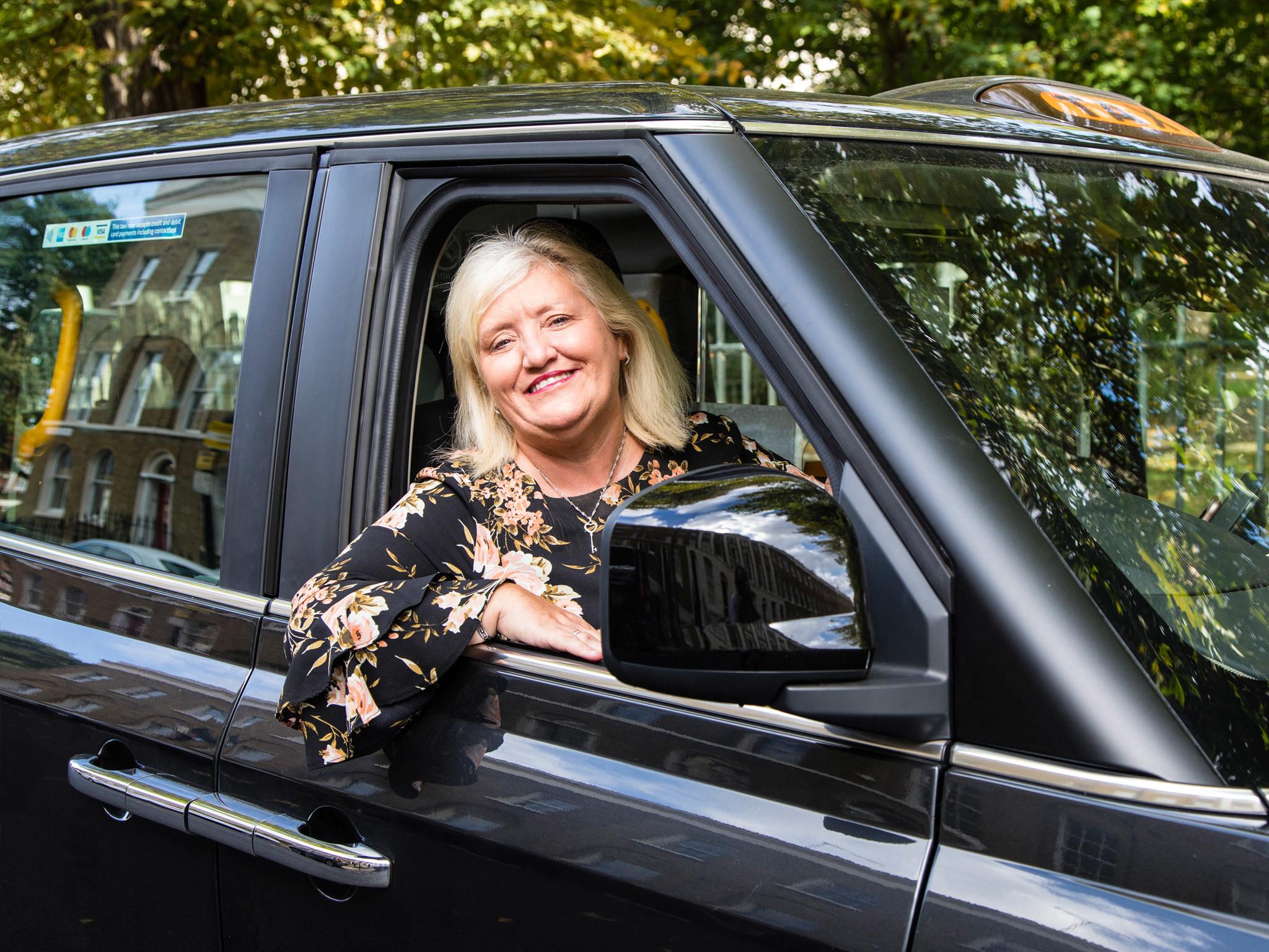 Meet one of London's few female black cab drivers