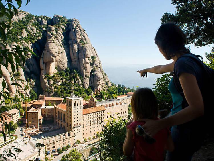 Roam free in Montserrat, the region's holiest (and rockiest) site