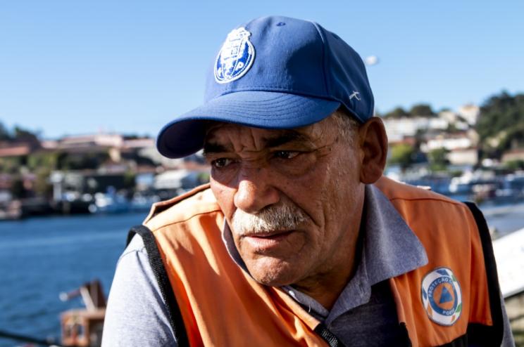 Gastão Celestino Teixeira, o homem que resgata corpos do Douro
