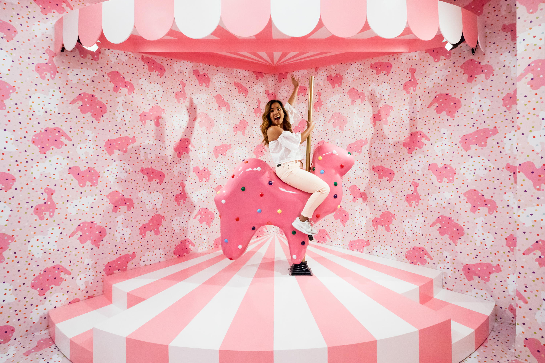 Pinkmas at The Museum of Ice Cream