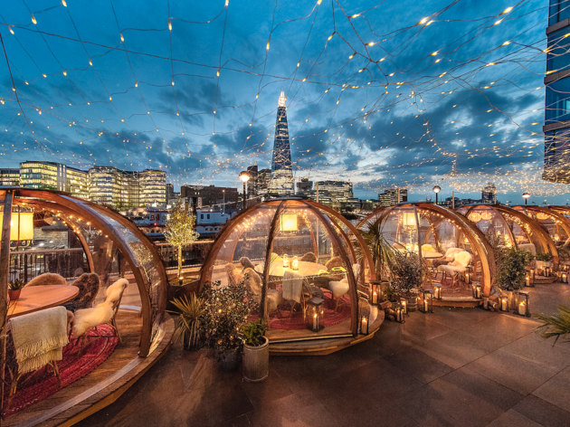Where to find winter igloos in London