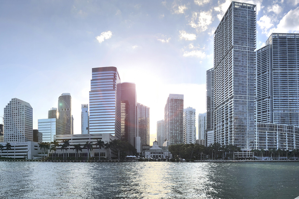 Check out these incredible shots of the Miami skyline