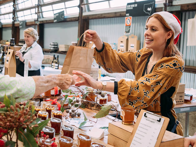 Carriageworks Christmas Market (Photograph: Supplied)