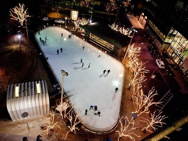 Kendall Square Community Ice Skating