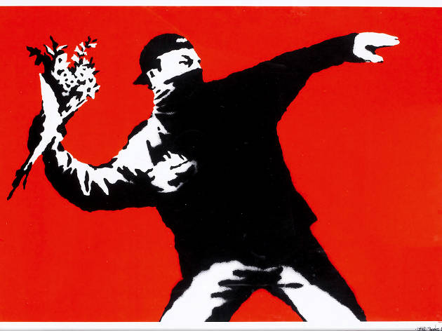 There's a major Banksy exhibition in Hong Kong this month