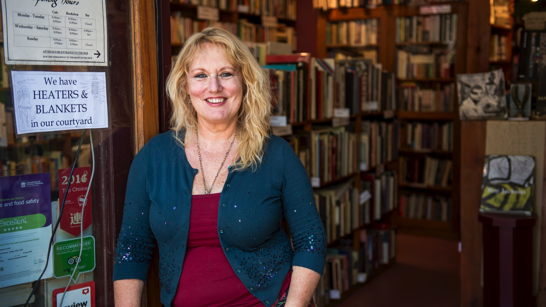 Sappho Books owner Meredith Baillie tells us what makes Glebe so great