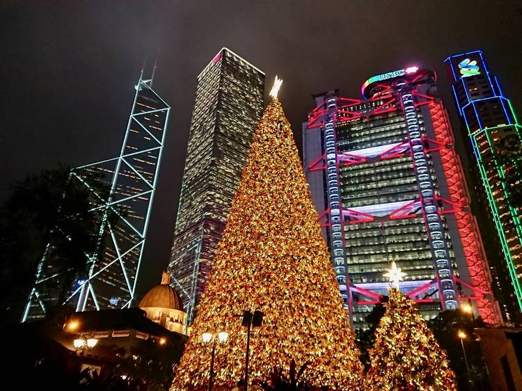 Christmas and New Year's Eve in Hong Kong