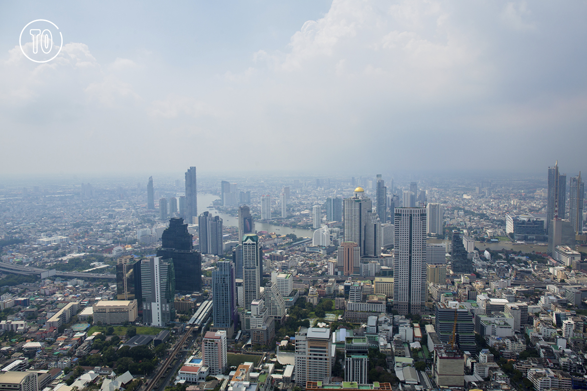 Mahanakhon Skywalk. Image: Sereechai Puttes/Time Out Bangkok