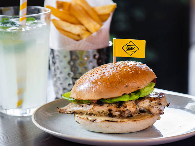 Gourmet Burger Kitchen Restaurants In Covent Garden London