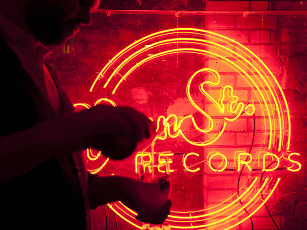 venn street records, neon bars london