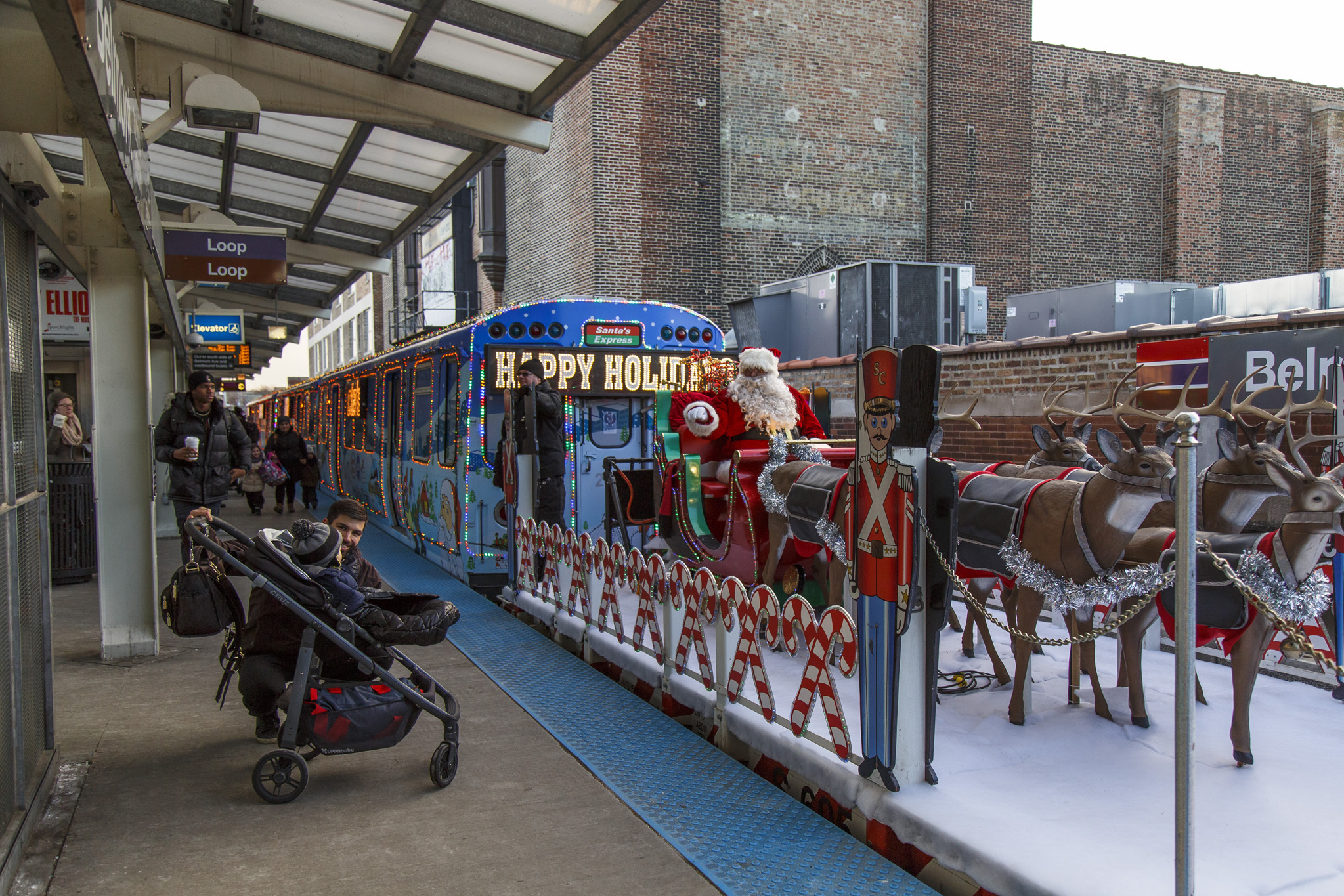 The complete CTA Holiday Train schedule has arrived