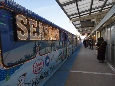CTA Holiday Train season in Chicago has arrived