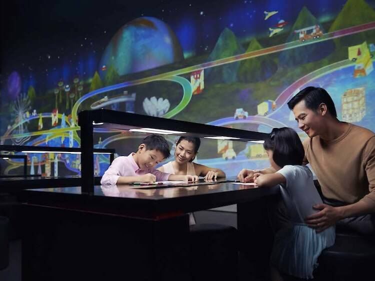Immerse in a digital world at ArtScience Museum